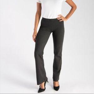 Beta Brand Charcoal Grey Bootcut Work Yoga Pants